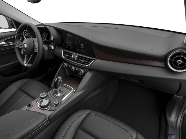 2017 Alfa Romeo Giulia Base Price AWD Pricing passenger's dashboard