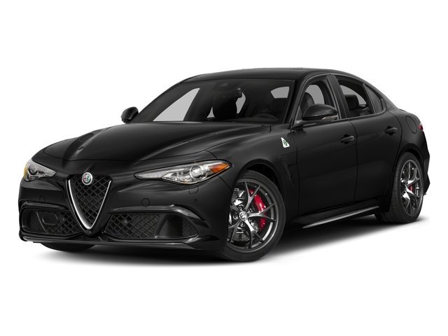 2017 Alfa Romeo Giulia Quadrifoglio Prices and Values Sedan 4D Quadrifoglio side front view