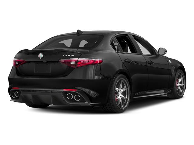 2017 Alfa Romeo Giulia Quadrifoglio Prices and Values Sedan 4D Quadrifoglio side rear view