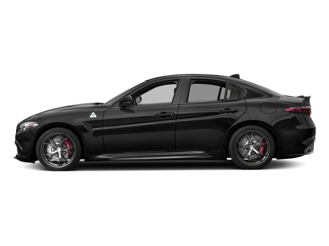 2017 Alfa Romeo Giulia Quadrifoglio Prices and Values Sedan 4D Quadrifoglio side view