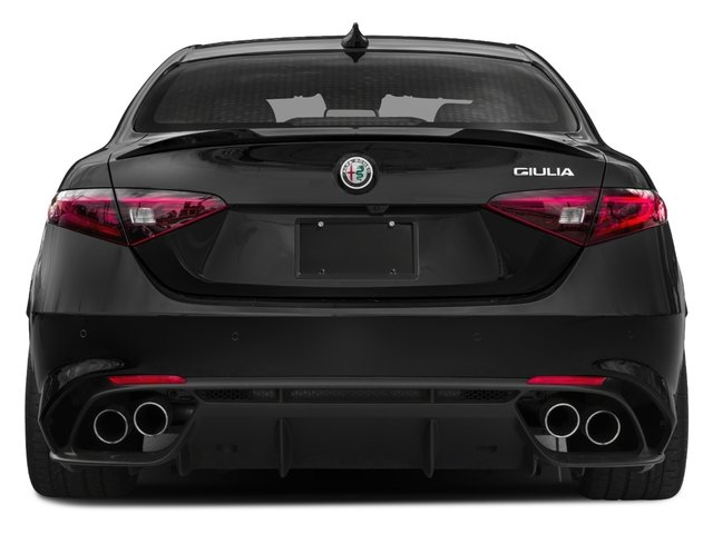 2017 Alfa Romeo Giulia Quadrifoglio Prices and Values Sedan 4D Quadrifoglio rear view