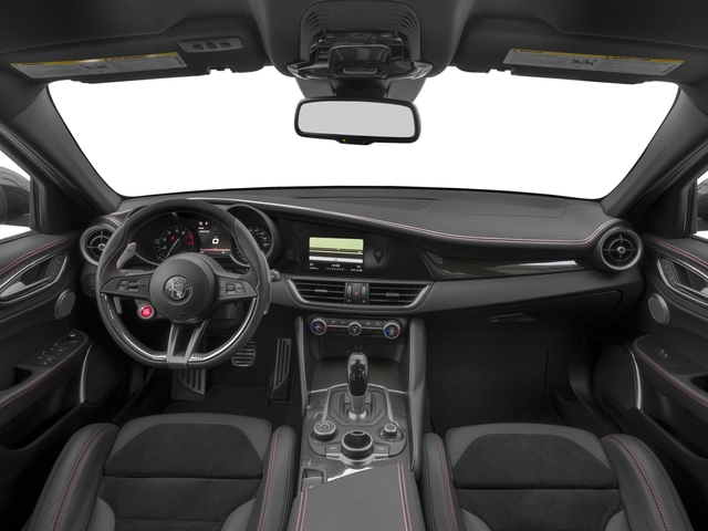 2017 Alfa Romeo Giulia Quadrifoglio Prices and Values Sedan 4D Quadrifoglio full dashboard
