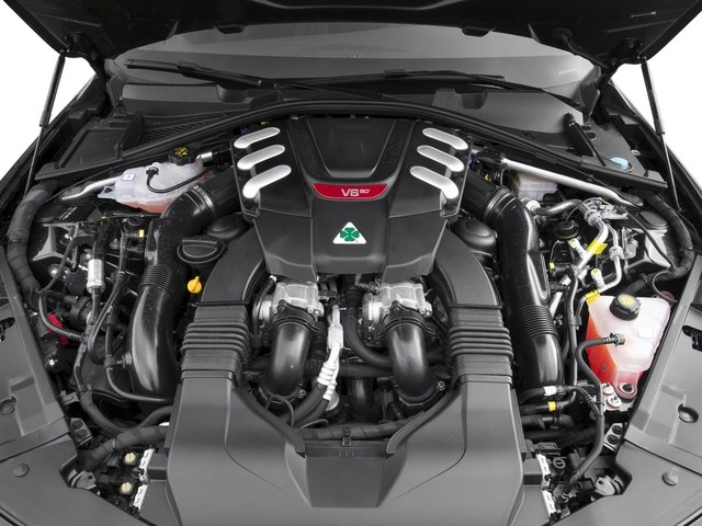 2017 Alfa Romeo Giulia Quadrifoglio Prices and Values Sedan 4D Quadrifoglio engine