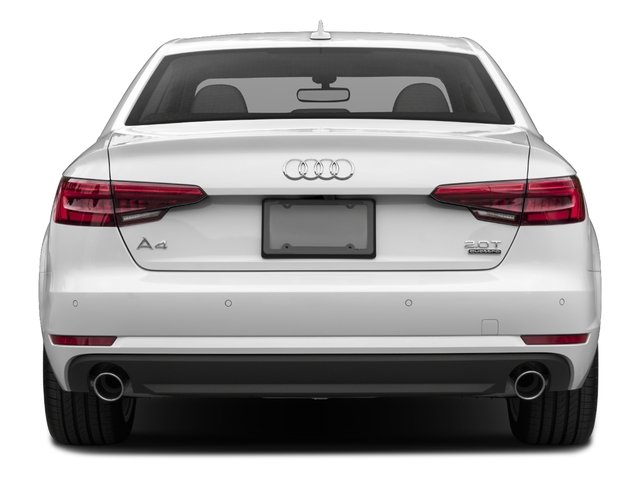 2017 Audi A4 Base Price 2.0 TFSI Auto Premium FWD Pricing rear view