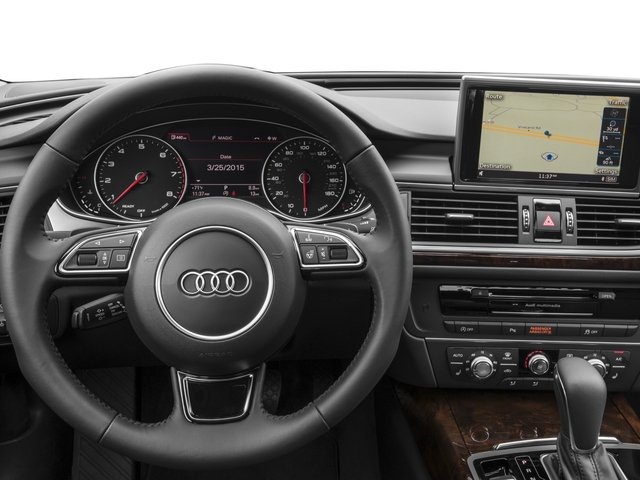 2017 Audi A6 Pictures A6 3.0 TFSI Premium Plus quattro AWD photos driver's dashboard
