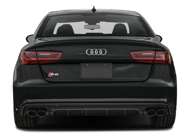 2017 Audi S6 Pictures S6 4.0 TFSI Prestige photos rear view