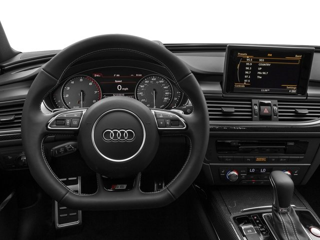 2017 Audi S6 Pictures S6 4.0 TFSI Prestige photos driver's dashboard