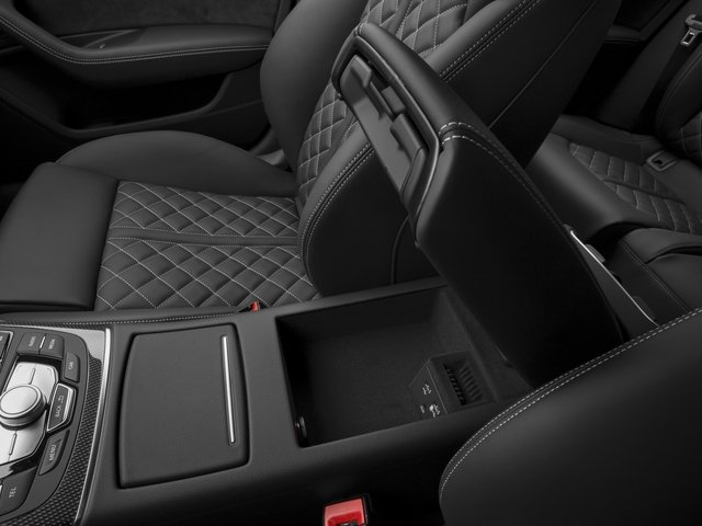 2017 Audi S6 Pictures S6 4.0 TFSI Prestige photos center storage console