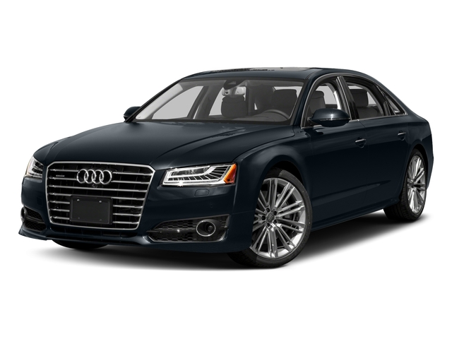 2017 Audi A8 L Prices and Values Sedan 4D 3.0T L AWD V6 Supercharged side front view
