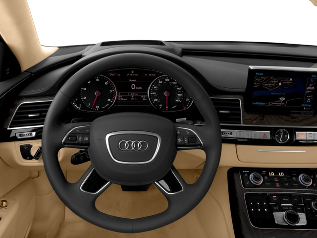 2017 Audi A8 L Pictures A8 L 4.0 TFSI Sport photos driver's dashboard