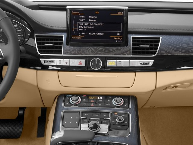 2017 Audi A8 L Pictures A8 L 4.0 TFSI Sport photos stereo system