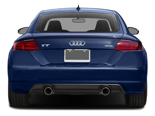 2017 Audi TT Coupe Pictures TT Coupe 2D AWD photos rear view