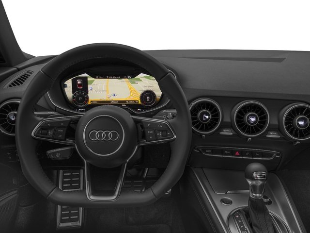 2017 Audi TT Coupe Pictures TT Coupe 2D AWD photos driver's dashboard