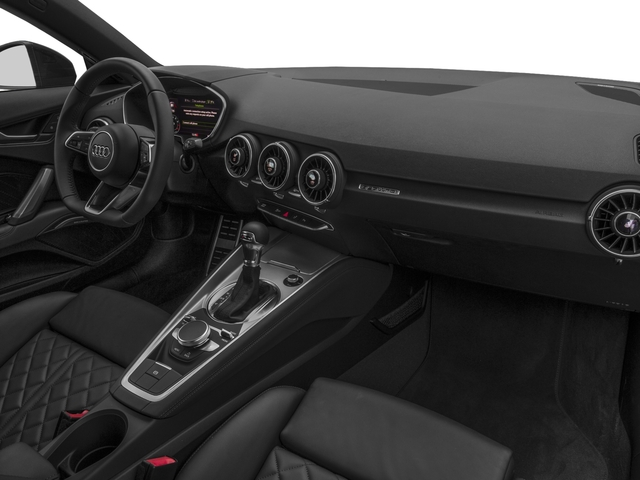 2017 Audi TT Coupe Pictures TT Coupe 2D AWD photos passenger's dashboard