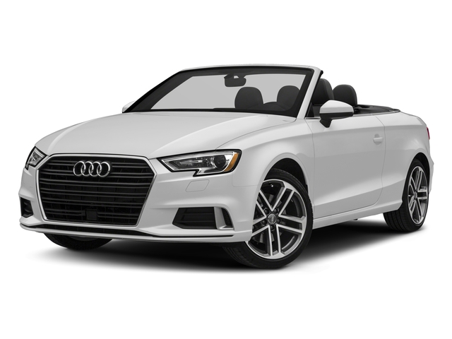 2017 Audi A3 Cabriolet Base Price 2.0 TFSI Prestige FWD Pricing side front view