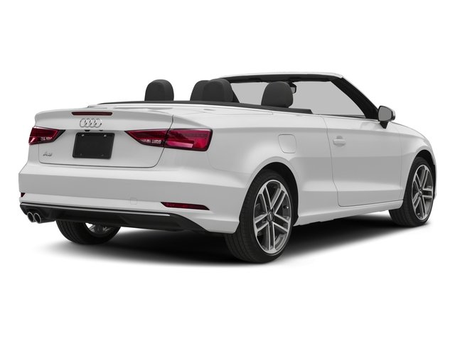 2017 Audi A3 Cabriolet Base Price 2.0 TFSI Prestige FWD Pricing side rear view