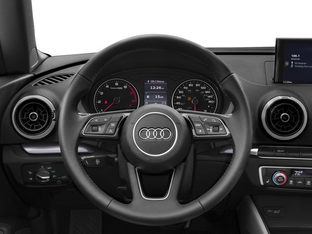 2017 Audi A3 Cabriolet Base Price 2.0 TFSI Prestige FWD Pricing driver's dashboard