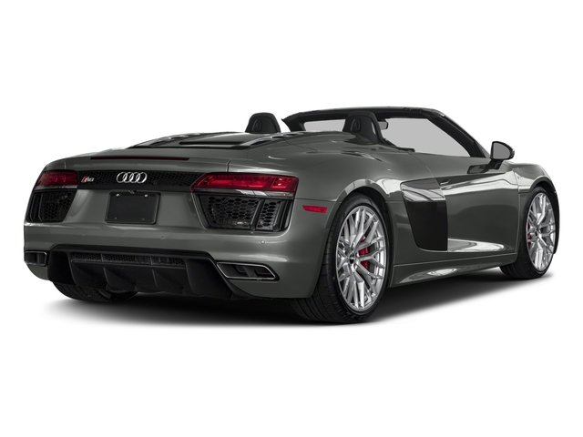 2017 Audi R8 Spyder Prices and Values 2 Door Spyder Quattro V10 side rear view