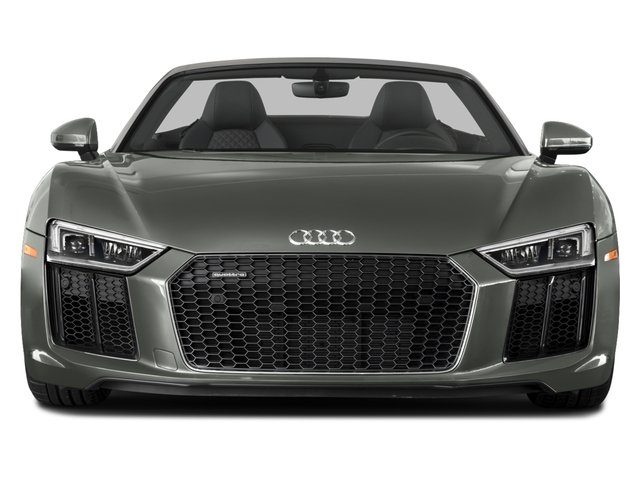 2017 Audi R8 Spyder Prices and Values 2 Door Spyder Quattro V10 front view
