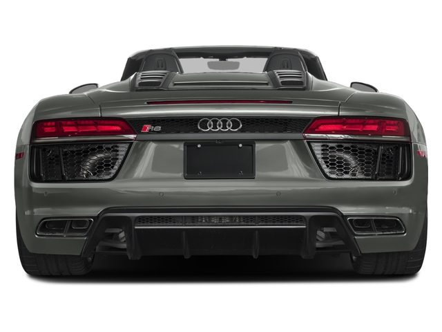2017 Audi R8 Spyder Prices and Values 2 Door Spyder Quattro V10 rear view