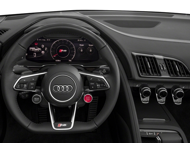 2017 Audi R8 Spyder Prices and Values 2 Door Spyder Quattro V10 driver's dashboard