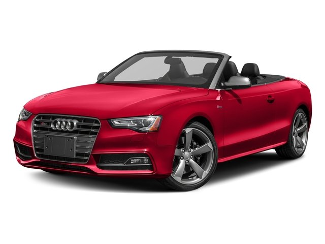 2017 Audi S5 Cabriolet Pictures S5 Cabriolet Convertible 2D S5 Premium Plus AWD photos side front view