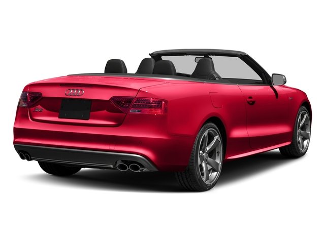 2017 Audi S5 Cabriolet Pictures S5 Cabriolet Convertible 2D S5 Premium Plus AWD photos side rear view