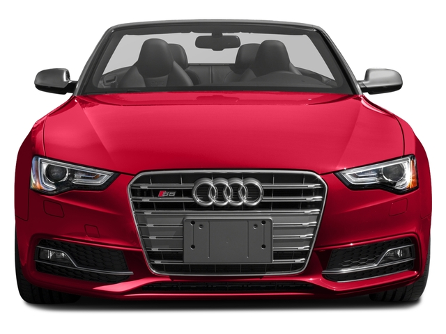 2017 Audi S5 Cabriolet Pictures S5 Cabriolet Convertible 2D S5 Premium Plus AWD photos front view