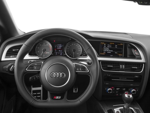2017 Audi S5 Cabriolet Pictures S5 Cabriolet 3.0 TFSI photos driver's dashboard