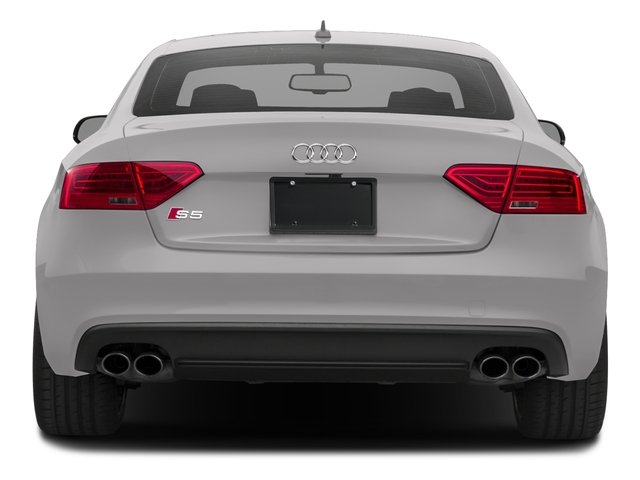2017 Audi S5 Coupe Prices and Values Coupe 2D S5 AWD rear view