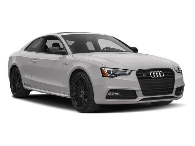 2017 Audi S5 Coupe Prices and Values Coupe 2D S5 AWD side front view