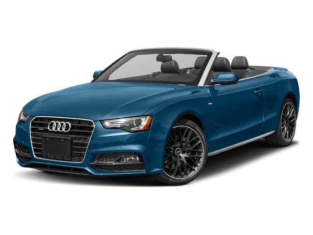 2017 Audi A5 Cabriolet Prices and Values Convertible 2D Sport AWD side front view