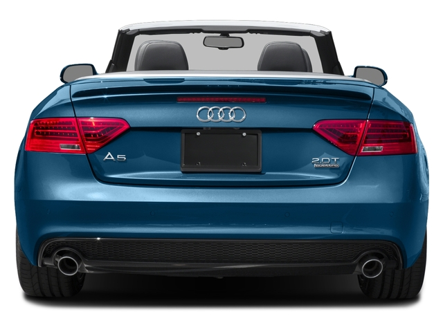 2017 Audi A5 Cabriolet Prices and Values Convertible 2D Sport AWD rear view