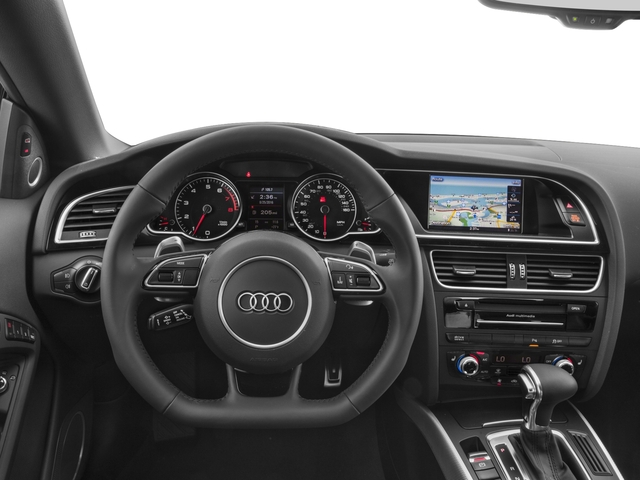 2017 Audi A5 Cabriolet Prices and Values Convertible 2D Sport AWD driver's dashboard