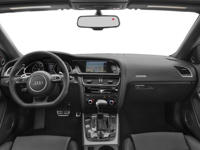 2017 Audi A5 Cabriolet Prices and Values Convertible 2D Sport AWD full dashboard