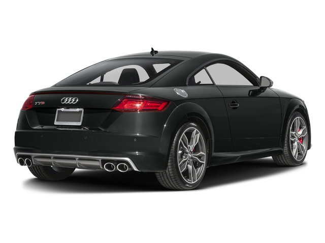 2017 Audi TTS Prices and Values Coupe 2D AWD side rear view
