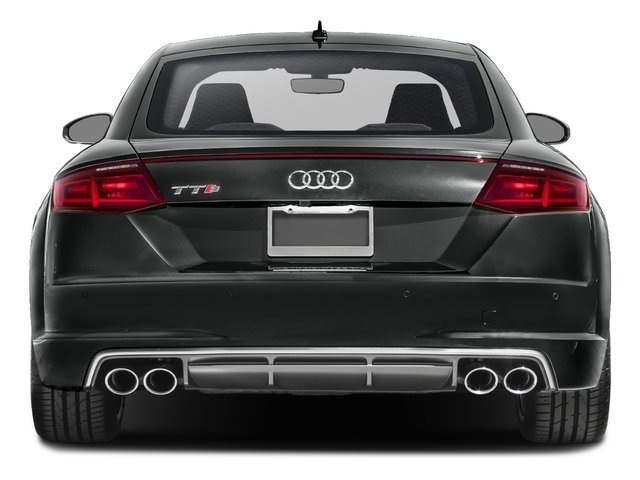2017 Audi TTS Prices and Values Coupe 2D AWD rear view