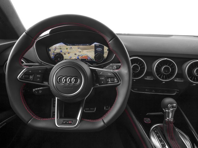 2017 Audi TTS Prices and Values Coupe 2D AWD driver's dashboard