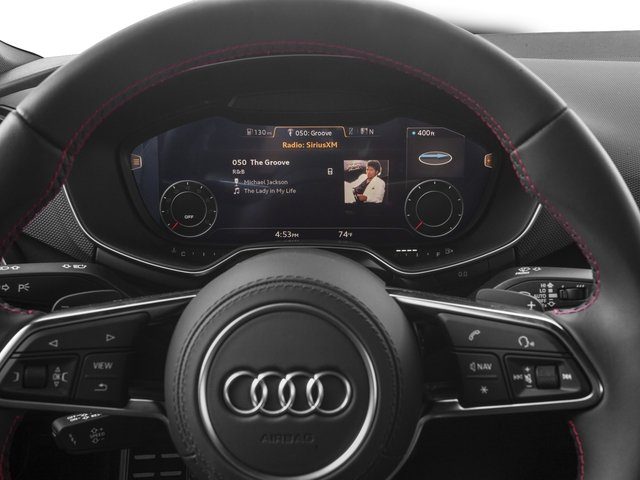 2017 Audi TTS Prices and Values Coupe 2D AWD stereo system