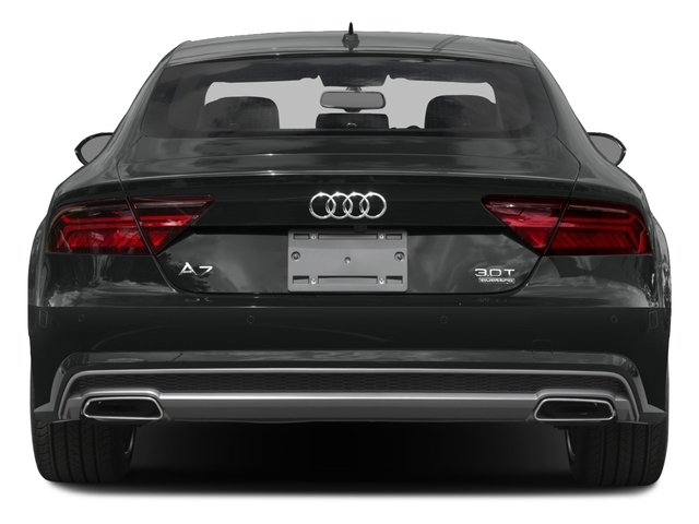 2017 Audi A7 Pictures A7 Sedan 4D Competition Prestige AWD photos rear view