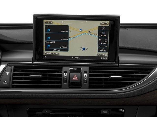 2017 Audi A7 Pictures A7 3.0 TFSI Competition Prestige photos navigation system