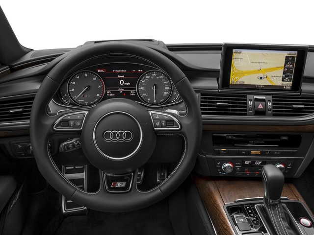 2017 Audi S7 Pictures S7 Sedan 4D S7 Prestige AWD photos driver's dashboard