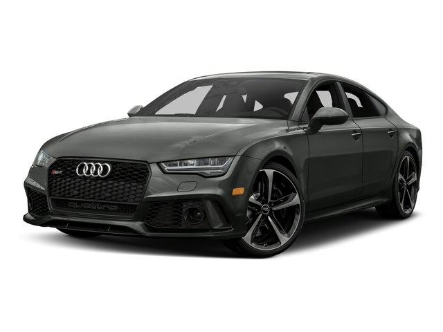 2017 Audi RS 7 Base Price 4.0 TFSI performance Prestige Pricing side front view