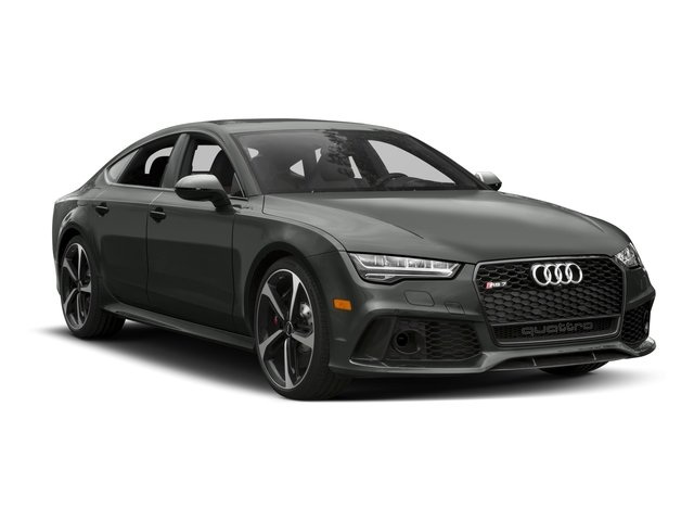2017 Audi RS 7 Prices and Values Sedan 4D RS7 Prestige AWD side front view