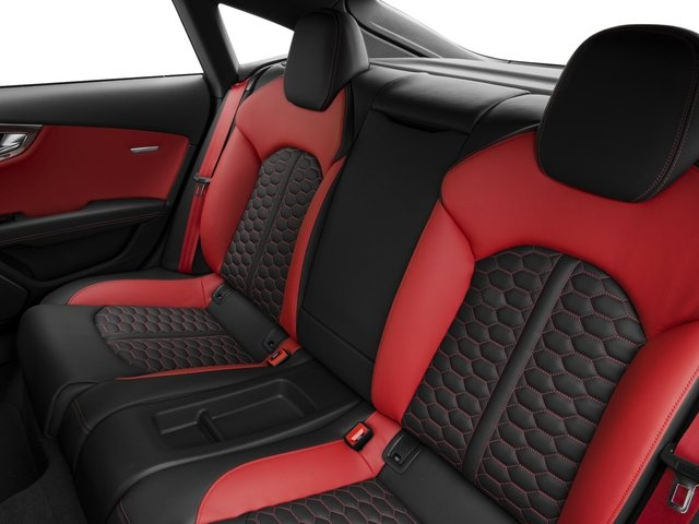 2017 Audi RS 7 Base Price 4.0 TFSI performance Prestige Pricing backseat interior
