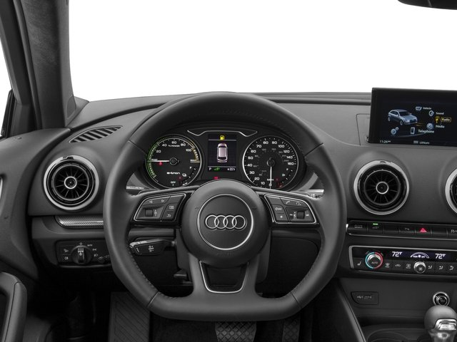 2017 Audi A3 Sportback e-tron Prices and Values Hatchback 5D E-tron Premium driver's dashboard