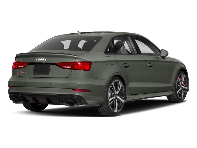2017 Audi RS 3 Pictures RS 3 Sedan 4D RS3 AWD photos side rear view