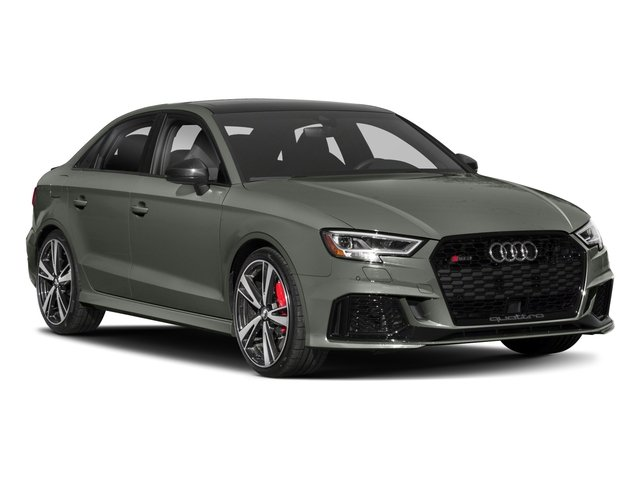2017 Audi RS 3 Pictures RS 3 Sedan 4D RS3 AWD photos side front view