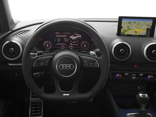 2017 Audi RS 3 Pictures RS 3 Sedan 4D RS3 AWD photos driver's dashboard
