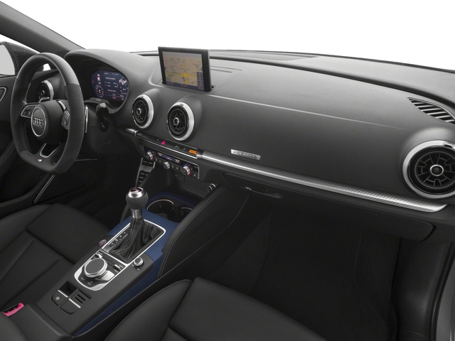 2017 Audi RS 3 Pictures RS 3 Sedan 4D RS3 AWD photos passenger's dashboard